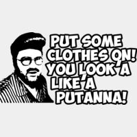 Put some clothes on! you look lik'a  putanna Thumbnail