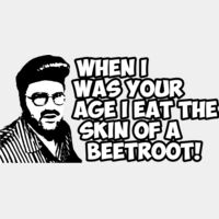 When I was your age..I eat skin of beetroot Thumbnail